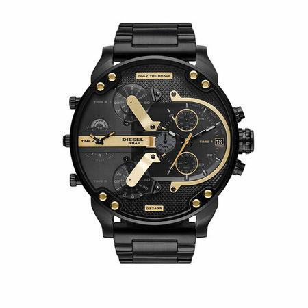 Diesel  Uhren - Mr. Daddy 2.0 Chronograph Stainless Steel Watch - in black - für Damen