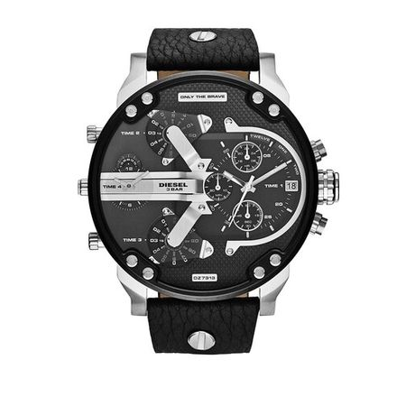 Diesel  Uhren - Watch Mr. Daddy 2.0 - in silver - für Damen