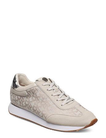 DKNY Arlie Niedrige Sneaker Beige  braun