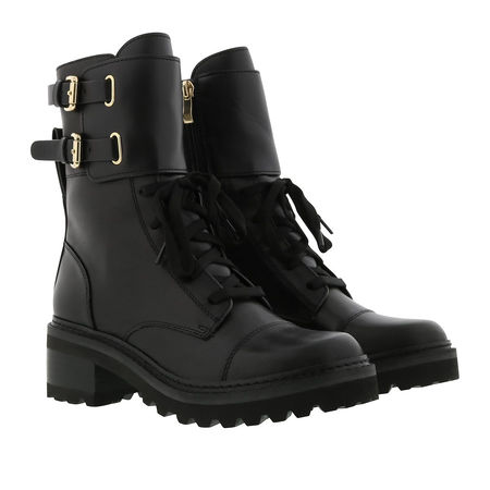 DKNY  Boots & Stiefeletten - Combat Boot Leather - in schwarz - für Damen
