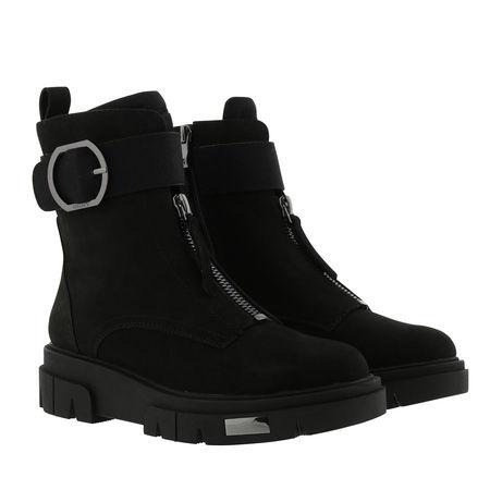 DKNY  Boots - Laina Ankle Boot Leather Black - in schwarz - für Damen