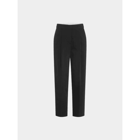 DKNY Cropped Pants mit Bundfalte