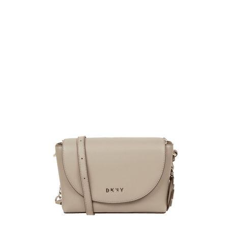 DKNY Crossbody Bag aus Leder Modell 'Dayna' braun
