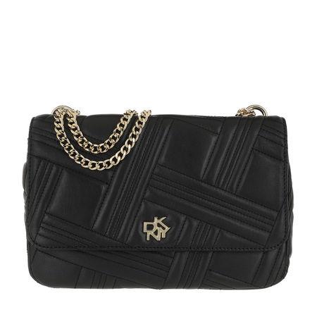 DKNY  Crossbody Bags - Alice Large Flap Should - in schwarz - für Damen schwarz