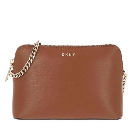 DKNY  Crossbody Bags - Bryant Dome Crossbody Su - in cognac - für Damen braun