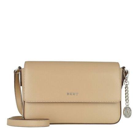 DKNY  Crossbody Bags - Bryant Medium Flap Crossbody - in beige - für Damen