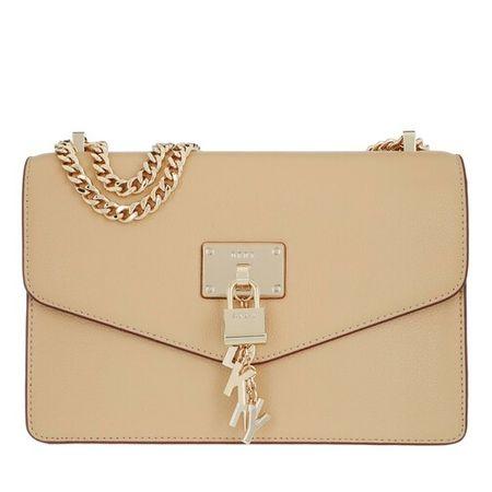 DKNY  Crossbody Bags - Elissa Large Shoulder Flap - in beige - für Damen