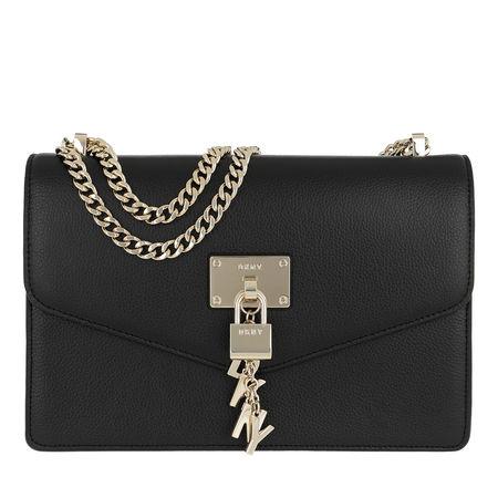DKNY  Crossbody Bags - Elissa  Large Shoulder - in schwarz - für Damen