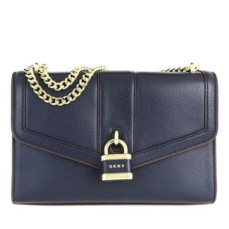 DKNY  Crossbody Bags - Ella Large Shoulder Flap - in blau - für Damen