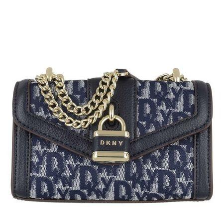 DKNY  Crossbody Bags - Ella Mini Shoulder Flap - in blau - für Damen