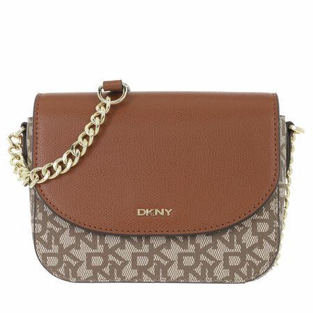 DKNY  Crossbody Bags - Felicia Flap Cbody - in cognac - für Damen