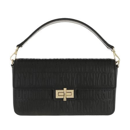 DKNY  Crossbody Bags - Jojo Medium Ew Flap Demi - in schwarz - für Damen schwarz
