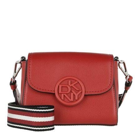 DKNY  Crossbody Bags - Leina Flap Crossbody - in rot - für Damen