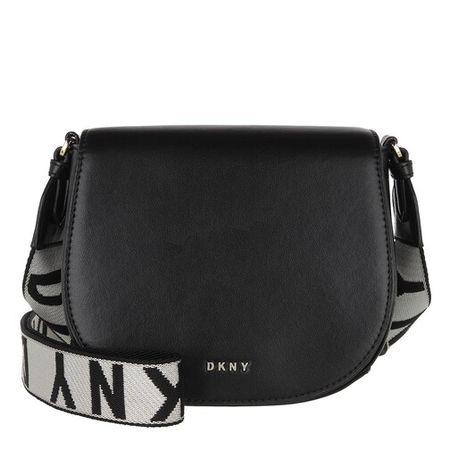 DKNY  Crossbody Bags - Winonna Saddle Bag - in schwarz - für Damen