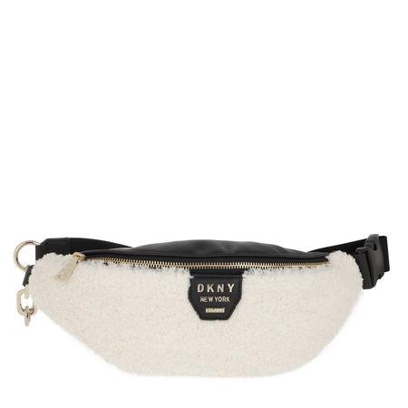 DKNY  Gürteltasche  -  Sherpa Item Belt Bag Ivory  - in schwarz  -  Gürteltasche für Damen braun