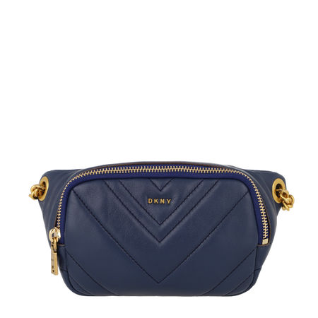 DKNY  Gürteltasche  -  Vivian Belt Bag Indigo  - in blau  -  Gürteltasche für Damen grau