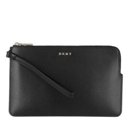 DKNY  Pochettes - Bryant Wristlet Pouchette - in schwarz - für Damen