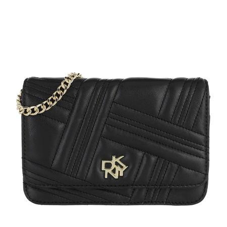 DKNY  Portemonnaie - Alice On A String Wallet Leather - in schwarz - für Damen schwarz