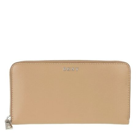 DKNY  Portemonnaie - Bryant New Zip Around Wallet - in beige - für Damen
