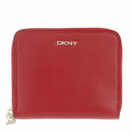DKNY  Portemonnaie - Bryant Sm Zip Around - in red - für Damen