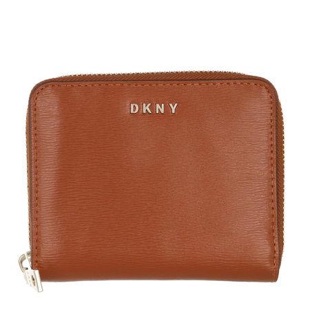 DKNY  Portemonnaie - Bryant Small Zip Around Caramel - in braun - für Damen braun