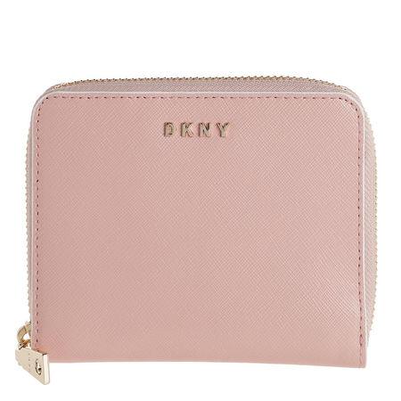 DKNY  Portemonnaie - Bryant Small Zip Around - in beige - für Damen braun