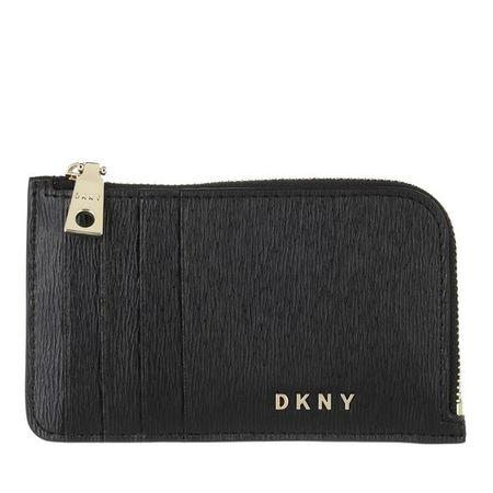 DKNY  Portemonnaie - Bryant Zip Card Hold - in black - für Damen