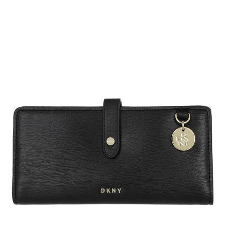 DKNY  Portemonnaie - Polly Large Bifold Wallet - in schwarz - für Damen schwarz