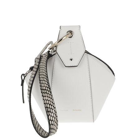 DKNY Proenza Schouler Umhängetasche  -  Zip Pochette Calfskin Optic White  - in weiß  -  Umhängetasche für Damen grau