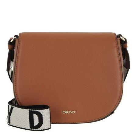 DKNY  Satchel Bag - Winonna Saddle Bag - in cognac - für Damen