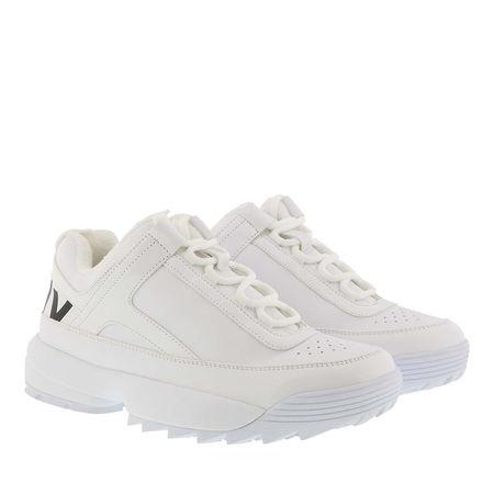 DKNY  Sneakers  -  Dani Lace Up Sneaker White  - in weiß  -  Sneakers für Damen braun