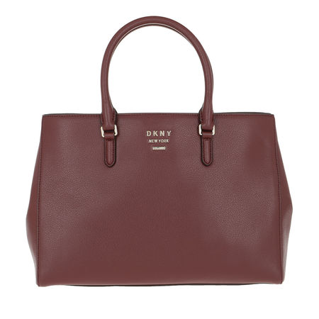 DKNY  Tote  -  Whitney Work Tote Blood Red  - in rot  -  Tote für Damen braun