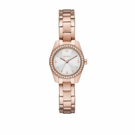 DKNY  Uhr - Nolita Three-Hand Stainless Steel Watch - in rosa - für Damen