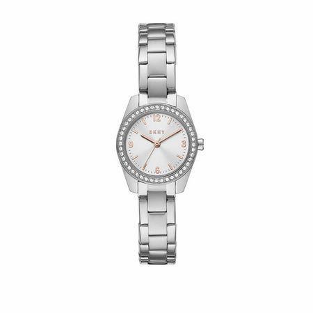 DKNY  Uhr - Nolita Three-Hand Stainless Steel Watch - in silber - für Damen grau