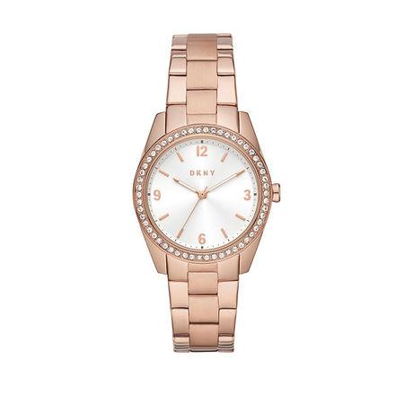 DKNY  Uhr  -  Nolita Watch  Rose Gold  - in roségold  -  Uhr für Damen braun