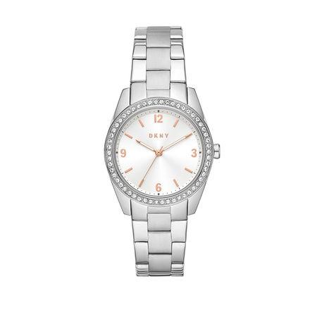 DKNY  Uhr  -  Nolita Watch  Silver  - in silber  -  Uhr für Damen braun