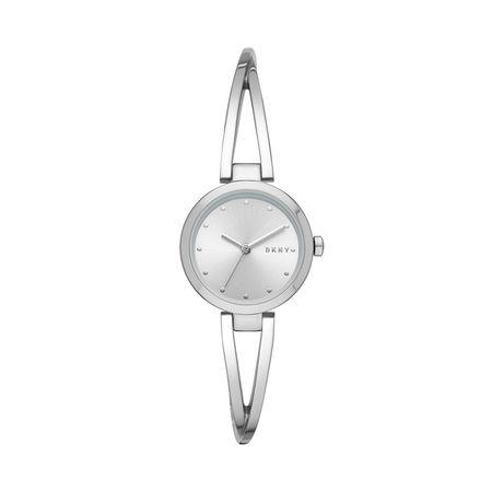 DKNY  Uhr  -  NY2789 Crosswalk Watch Silver  - in silber  -  Uhr für Damen grau