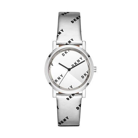 DKNY  Uhr  -  NY2803 Soho Watch Silver  - in silber  -  Uhr für Damen grau