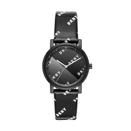 DKNY  Uhr  -  NY2805 Soho Watch Black  - in schwarz  -  Uhr für Damen grau