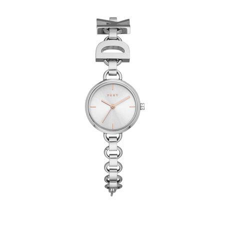 DKNY  Uhr  -  NY2828 Soho Watch Silver  - in silber  -  Uhr für Damen grau