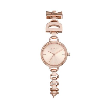 DKNY  Uhr  -  NY2829 Soho Watch Roségold  - in rosa  -  Uhr für Damen braun
