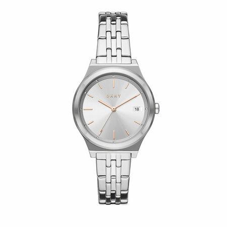 DKNY  Uhr - Parsons Three-Hand Date Stainless Steel Watch - in silver - für Damen