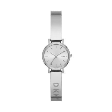 DKNY  Uhr  -  Soho Modern Watch Silver  - in silber  -  Uhr für Damen braun