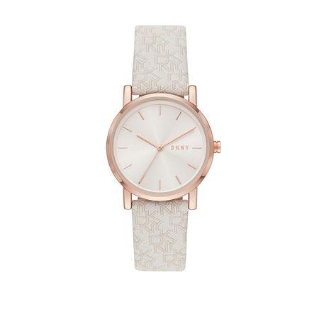 DKNY  Uhr  -  Soho Watch Rose Gold  - in beige  -  Uhr für Damen braun