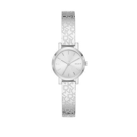 DKNY  Uhr  -  Soho Watch Silber  - in silber  -  Uhr für Damen braun
