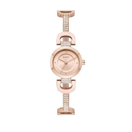 DKNY  Uhr  -  Watch City Link NY2752 Roségold  - in roségold  -  Uhr für Damen braun