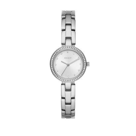 DKNY  Uhr  -  Watch City Link NY2824 Silver  - in silber  -  Uhr für Damen grau