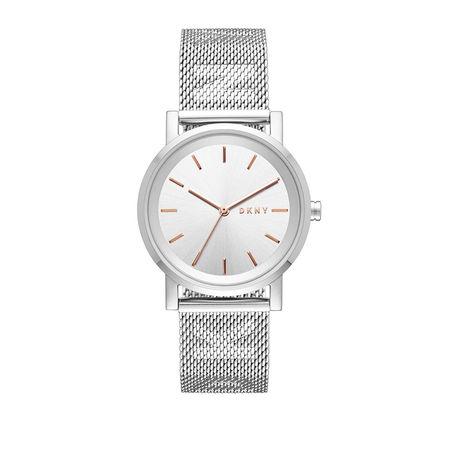 DKNY  Uhr  -  Watch Soho NY2620 Silver  - in silber  -  Uhr für Damen grau
