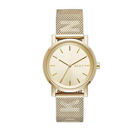 DKNY  Uhr  -  Watch Soho NY2621 Gold  - in gold  -  Uhr für Damen braun