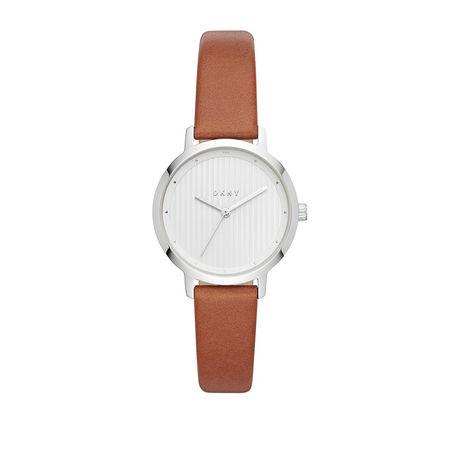 DKNY  Uhr - Watch The Modernist NY2676 Silver - in braun - für Damen